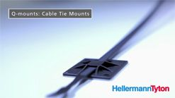 Q-Series - Q-mounts: Cable tie mounts