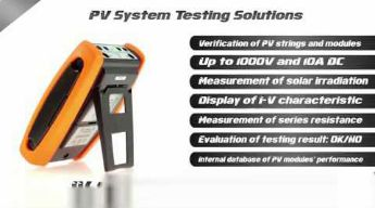 Solar300N Instruments for verification analysis